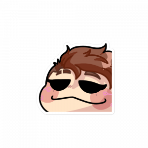 pokeSmug Sticker